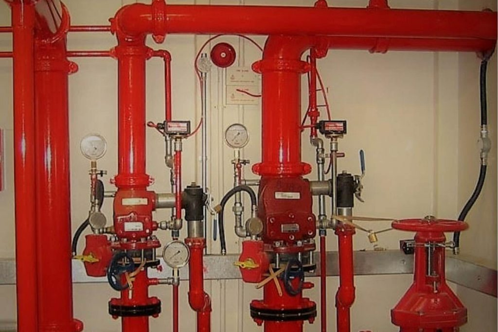 Instal·lacions contra incendis (PCI)